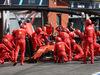 GP BELGIO, 01.09.2019 - Gara, Pit stop, Charles Leclerc (MON) Ferrari SF90