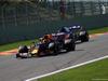 GP BELGIO, 31.08.2019 - Free Practice 3, Max Verstappen (NED) Red Bull Racing RB15 e Daniil Kvyat (RUS) Scuderia Toro Rosso STR14