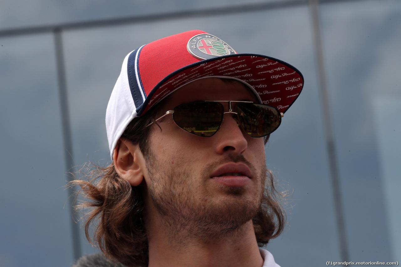 GP BRASILE, 17.11.2019 - Antonio Giovinazzi (ITA) Alfa Romeo Racing C38