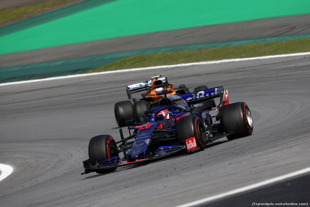 GP BRASILE, 17.11.2019 - Gara, Daniil Kvyat (RUS) Scuderia Toro Rosso STR14