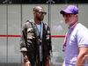 GP BRASILE, 17.11.2019 - Dani Alves (BRA) Football player e Rubens Barrichello (BRA)
