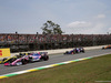 GP BRASILE, 17.11.2019 - Gara, Daniel Ricciardo (AUS) Renault Sport F1 Team RS19 e Lance Stroll (CDN) Racing Point F1 Team RP19