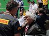 GP BRASILE, 17.11.2019 - Gara, Mario Isola (ITA), Pirelli Racing Manager e Bernie Ecclestone (GBR)