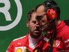 GP BRASILE, 17.11.2019 - Gara, Sebastian Vettel (GER) Ferrari SF90 e Riccardo Adami (ITA) Ferrari Gara Engineer