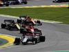 GP BRASILE, 17.11.2019 - Gara, Antonio Giovinazzi (ITA) Alfa Romeo Racing C38 davanti a Charles Leclerc (MON) Ferrari SF90