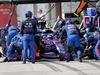 GP BRASILE, 17.11.2019 - Gara, Pit stop, Pierre Gasly (FRA) Scuderia Toro Rosso STR14