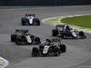GP BRASILE, 17.11.2019 - Gara, Kevin Magnussen (DEN) Haas F1 Team VF-19 davanti a Romain Grosjean (FRA) Haas F1 Team VF-19