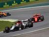 GP BRASILE, 17.11.2019 - Gara, Antonio Giovinazzi (ITA) Alfa Romeo Racing C38 e Charles Leclerc (MON) Ferrari SF90