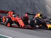 GP BRASILE, 17.11.2019 - Gara, Sebastian Vettel (GER) Ferrari SF90 e Alexander Albon (THA) Red Bull Racing RB15