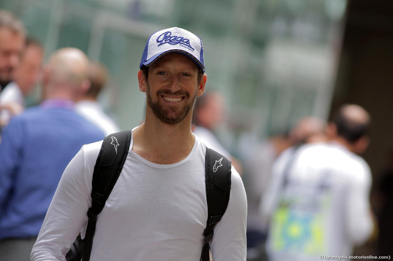 GP BRASILE, 16.11.2019 - Romain Grosjean (FRA) Haas F1 Team VF-19