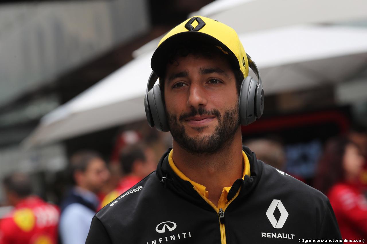 GP BRASILE, 16.11.2019 - Prove Libere 3, Daniel Ricciardo (AUS) Renault Sport F1 Team RS19