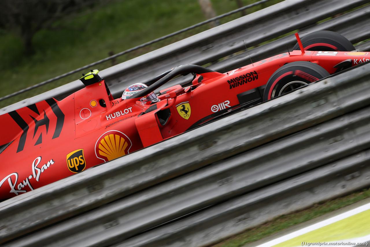 GP BRASILE, 16.11.2019 - Prove Libere 3, Charles Leclerc (MON) Ferrari SF90