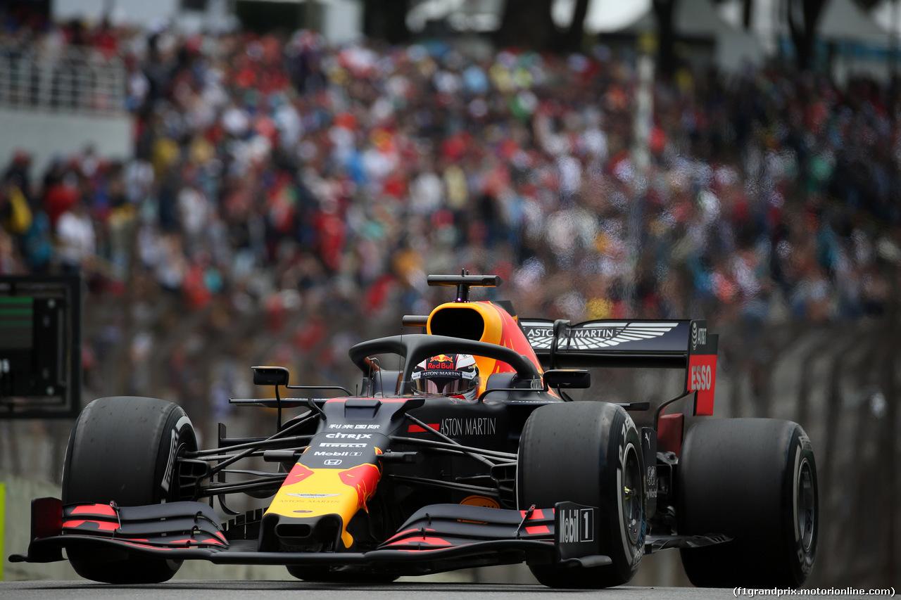 GP BRASILE, 16.11.2019 - Prove Libere 3, Max Verstappen (NED) Red Bull Racing RB15