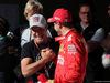 GP BRASILE, 16.11.2019 - Qualifiche, Rubens Barrichello (BRA) e Sebastian Vettel (GER) Ferrari SF90