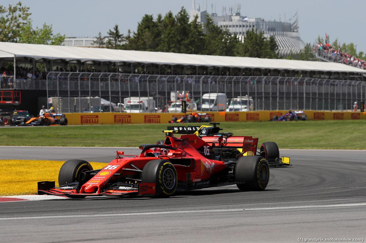 GP CANADA, 09.06.2019 - Gara, Charles Leclerc (MON) Ferrari SF90