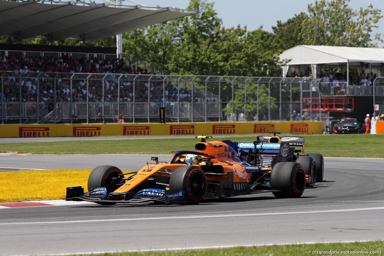 GP CANADA, 09.06.2019 - Gara, Lando Norris (GBR) Mclaren F1 Team MCL34