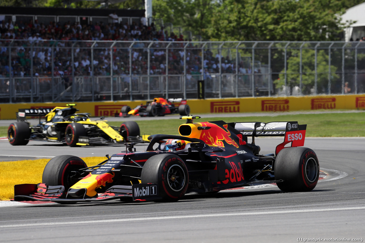 GP CANADA, 09.06.2019 - Gara, Pierre Gasly (FRA) Red Bull Racing RB15