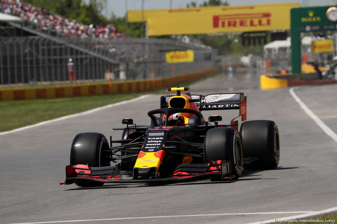 GP CANADA, 09.06.2019 - Gara, Pierre Gasly (FRA) Red Bull Racing RB15