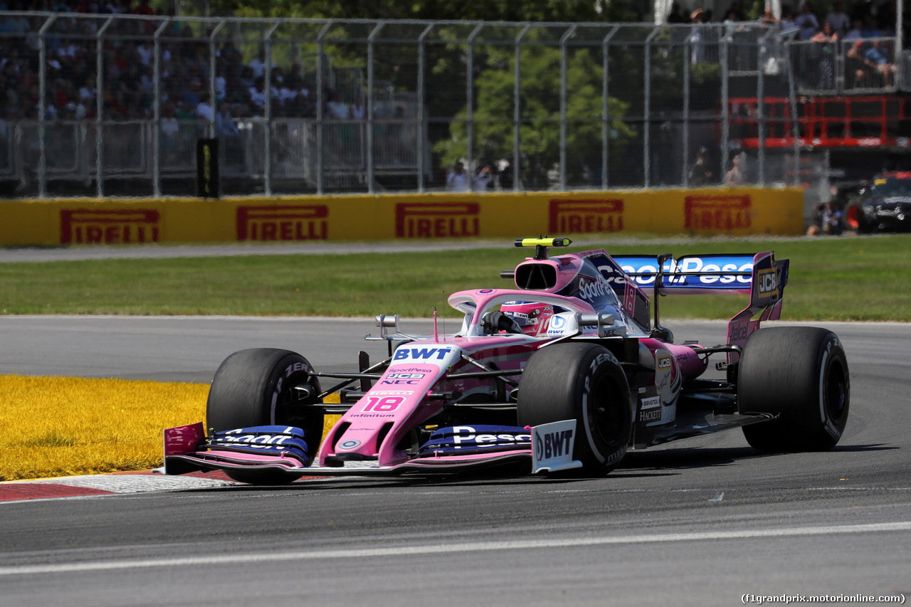 GP CANADA, 09.06.2019 - Gara, Sergio Perez (MEX) Racing Point F1 Team RP19