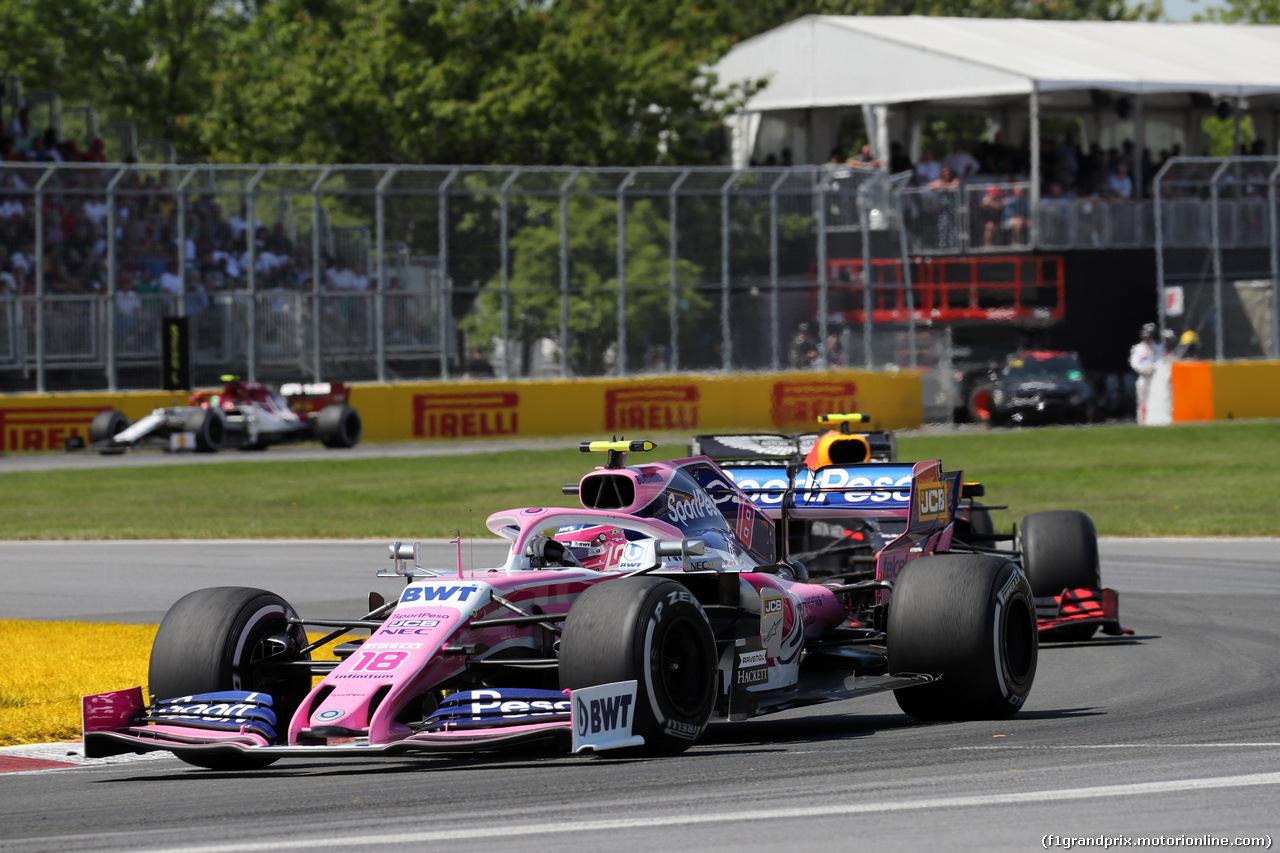 GP CANADA, 09.06.2019 - Gara, Lance Stroll (CDN) Racing Point F1 Team RP19