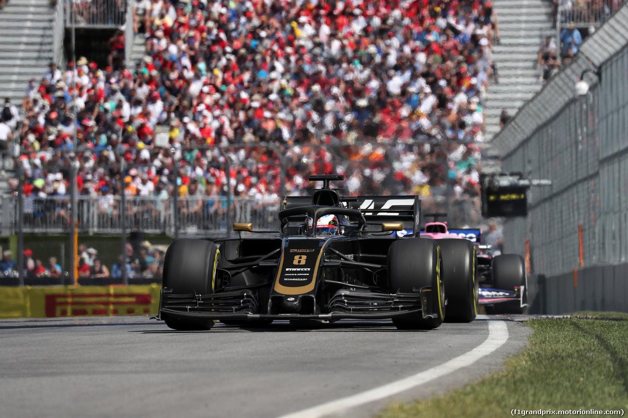 GP CANADA, 09.06.2019 - Gara, Romain Grosjean (FRA) Haas F1 Team VF-19