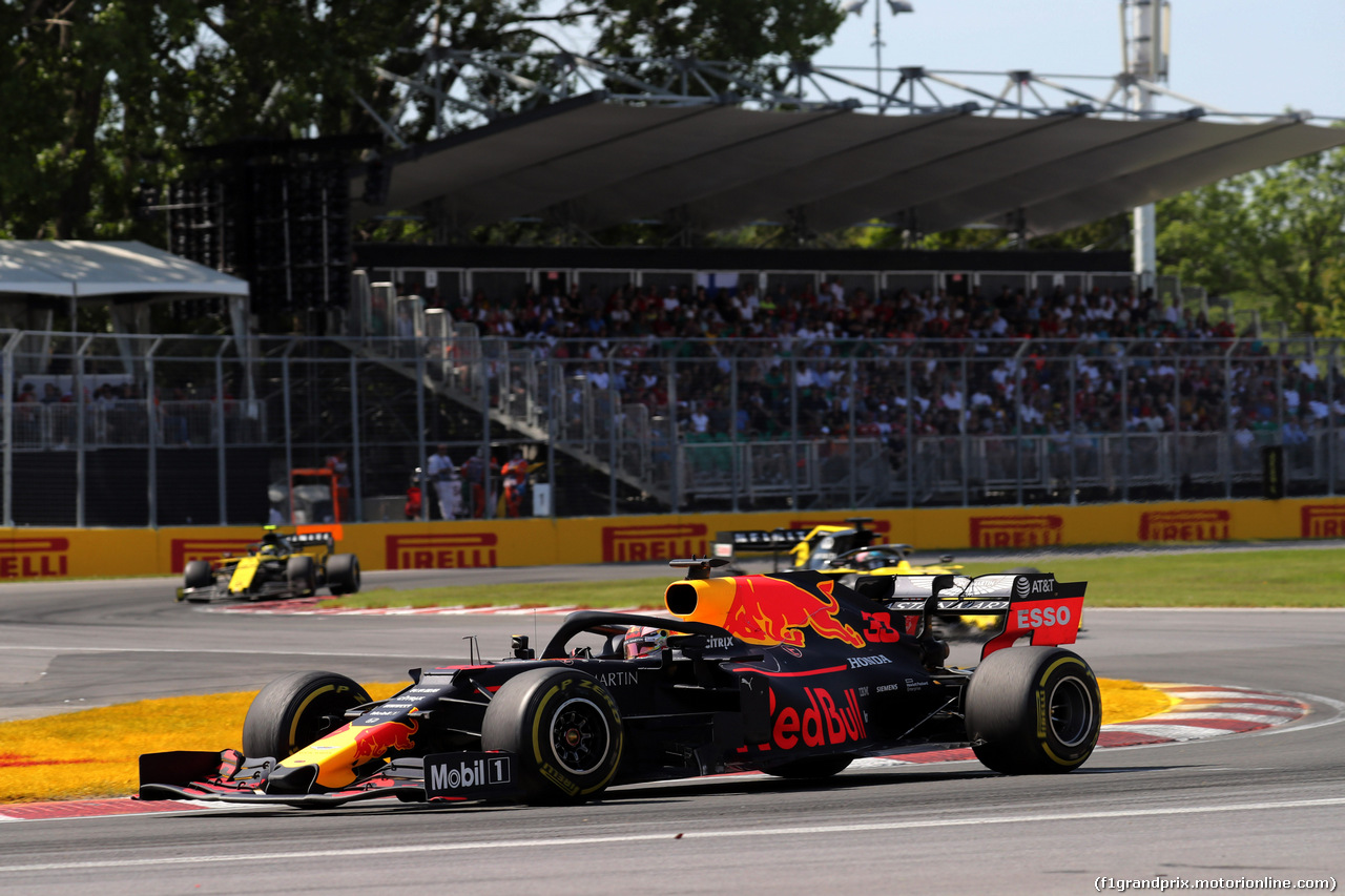 GP CANADA, 09.06.2019 - Gara, Max Verstappen (NED) Red Bull Racing RB15