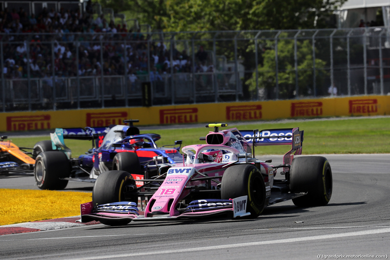 GP CANADA, 09.06.2019 - Gara, Lance Stroll (CDN) Racing Point F1 Team RP19