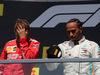GP CANADA, 09.06.2019 - Gara, 2nd place Sebastian Vettel (GER) Ferrari SF90 e Lewis Hamilton (GBR) Mercedes AMG F1 W10 vincitore