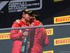 GP CANADA, 09.06.2019 - Gara, 2nd place Sebastian Vettel (GER) Ferrari SF90 e 3rd place Charles Leclerc (MON) Ferrari SF90