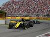 GP CANADA, 09.06.2019 - Gara, Daniel Ricciardo (AUS) Renault Sport F1 Team RS19 davanti a Valtteri Bottas (FIN) Mercedes AMG F1 W010
