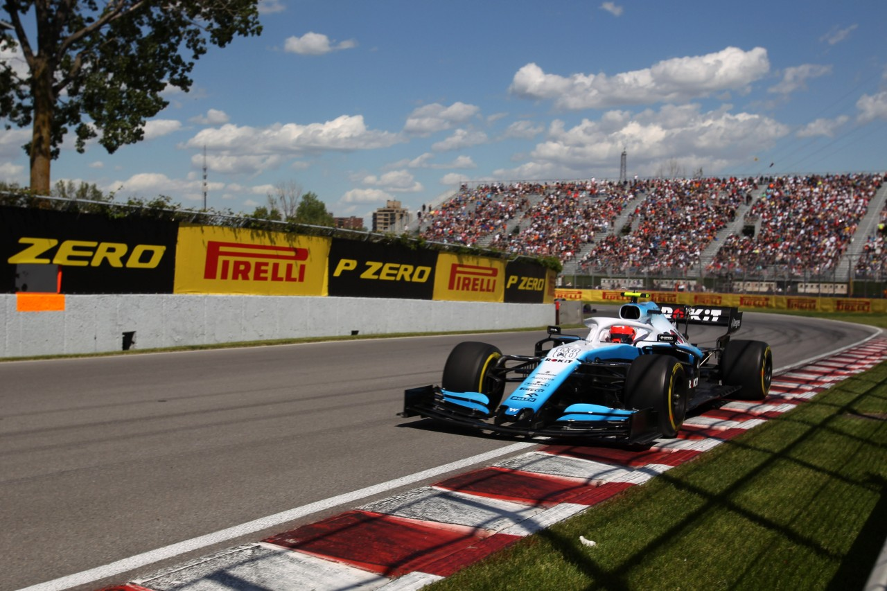GP CANADA, 07.06.2019 - Prove Libere 2, Robert Kubica (POL) Williams Racing FW42