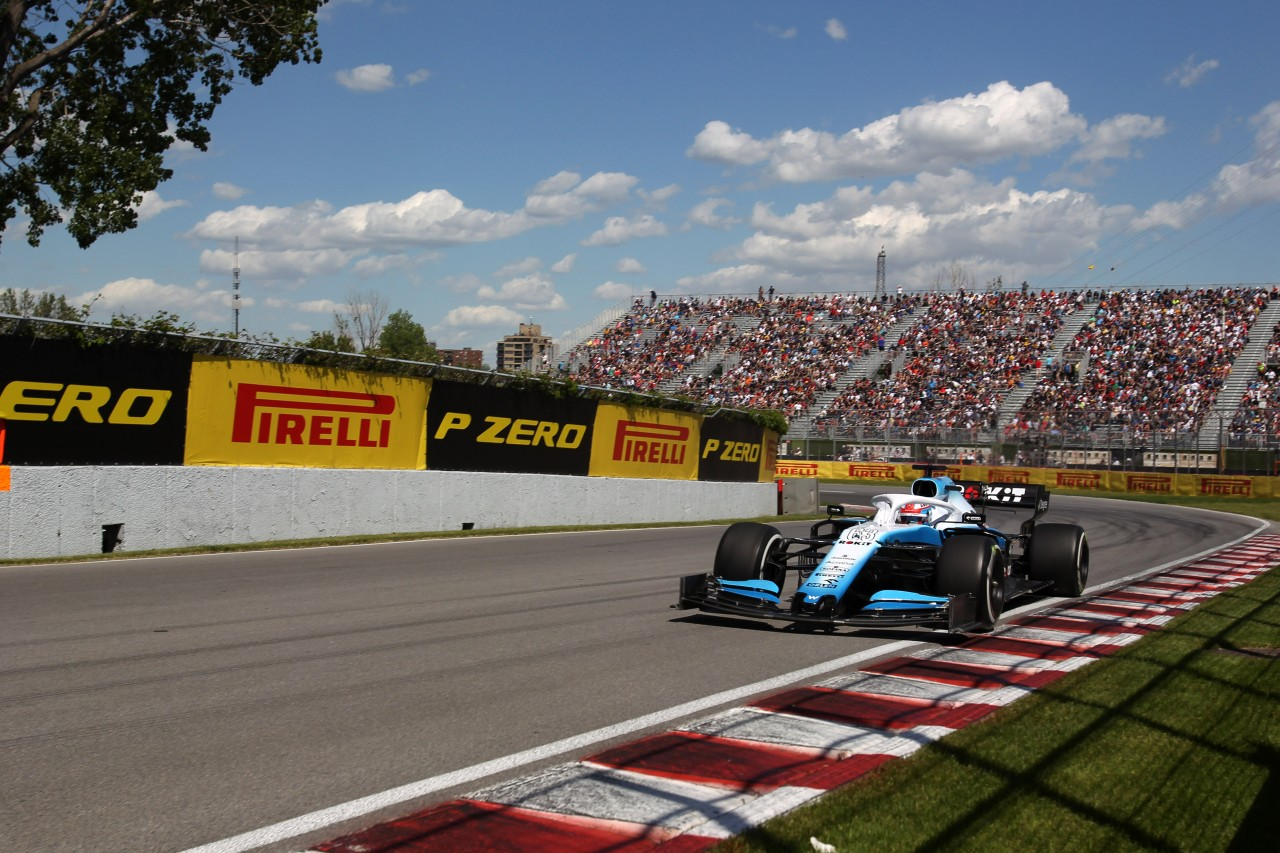 GP CANADA, 07.06.2019 - Prove Libere 2, George Russell (GBR) Williams Racing FW42