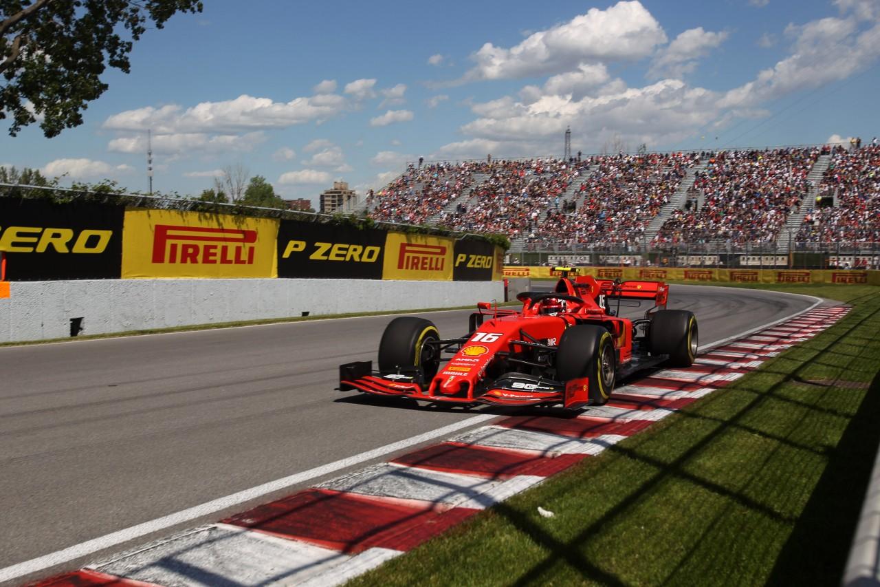 GP CANADA, 07.06.2019 - Prove Libere 2, Charles Leclerc (MON) Ferrari SF90