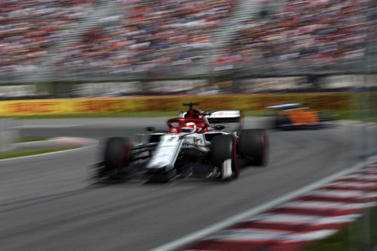 GP CANADA, 07.06.2019 - Prove Libere 2, Kimi Raikkonen (FIN) Alfa Romeo Racing C38