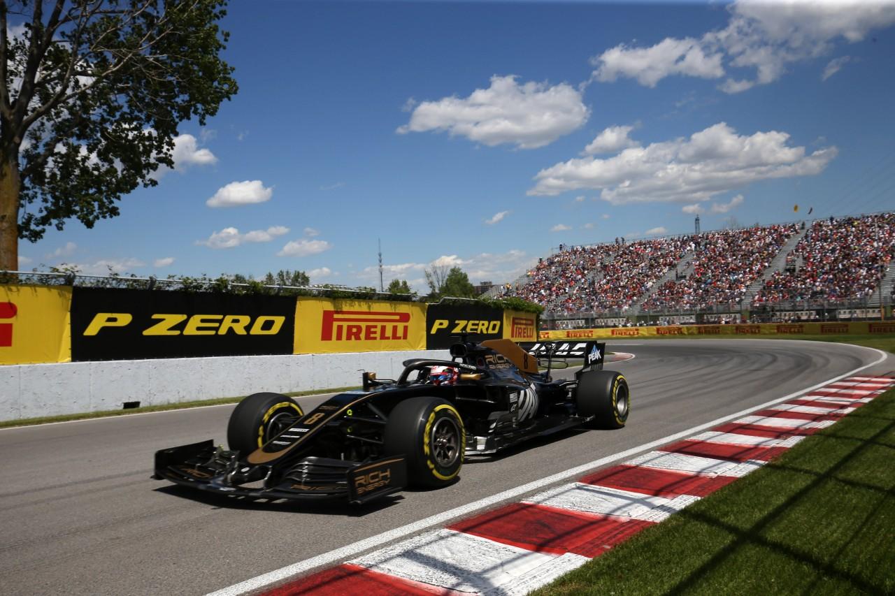GP CANADA, 07.06.2019 - Prove Libere 2, Romain Grosjean (FRA) Haas F1 Team VF-19