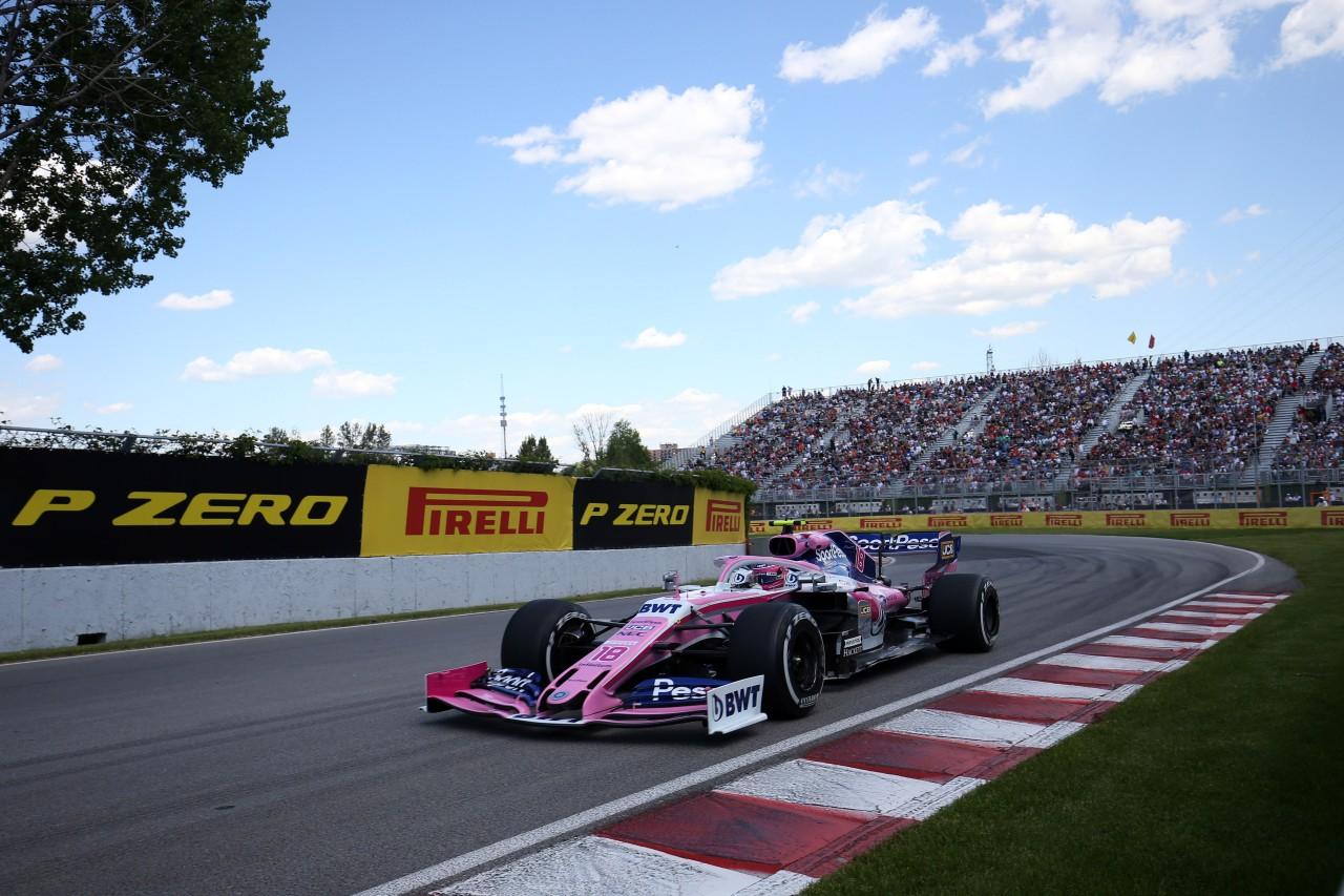 GP CANADA, 07.06.2019 - Prove Libere 2, Lance Stroll (CDN) Racing Point F1 Team RP19