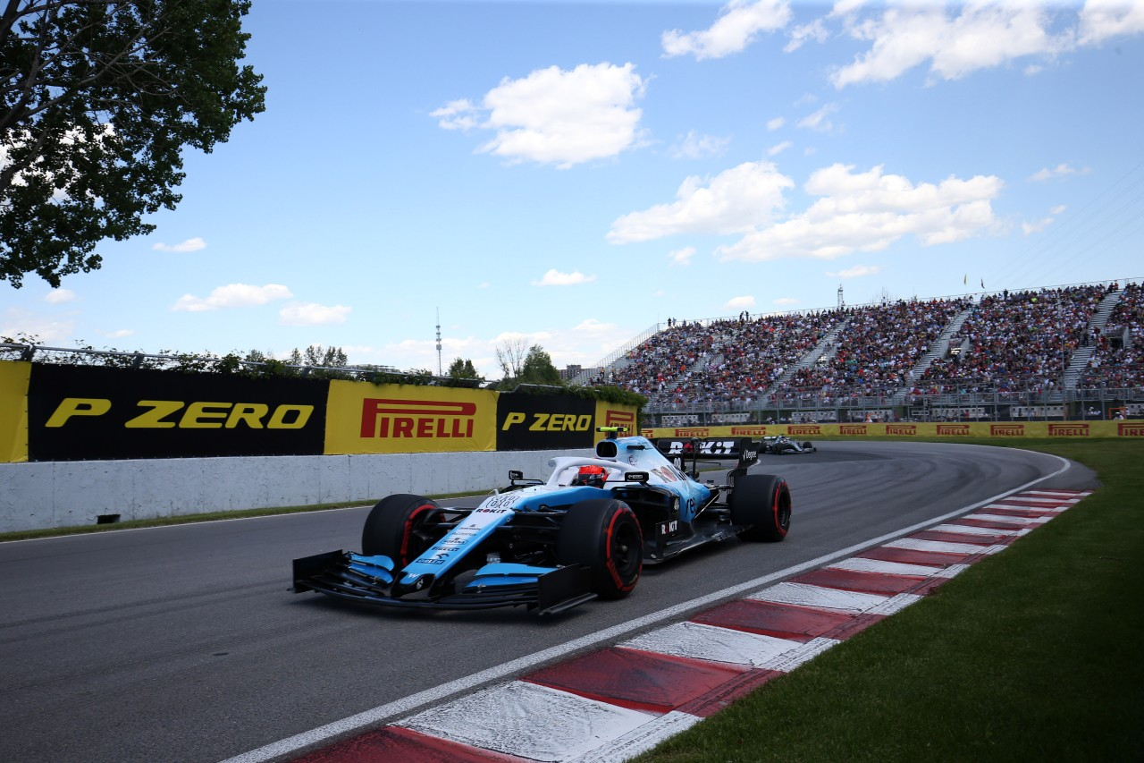 GP CANADA, 07.06.2019 - Prove Libere 2, Robert Kubica (POL) Williams Racing FW42