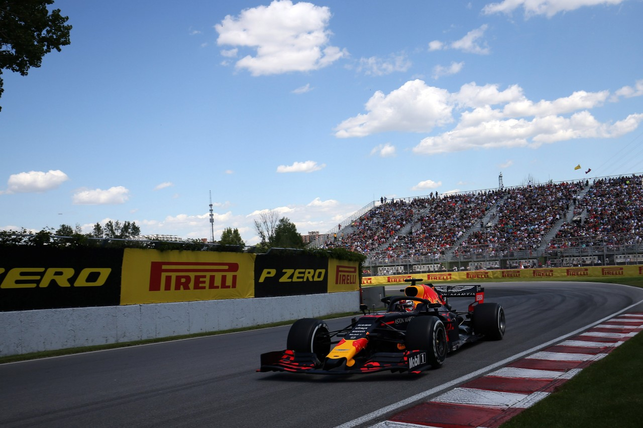 GP CANADA, 07.06.2019 - Prove Libere 2, Max Verstappen (NED) Red Bull Racing RB15