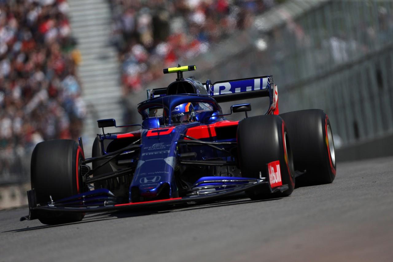 GP CANADA, 07.06.2019 - Prove Libere 2, Alexander Albon (THA) Scuderia Toro Rosso STR14
