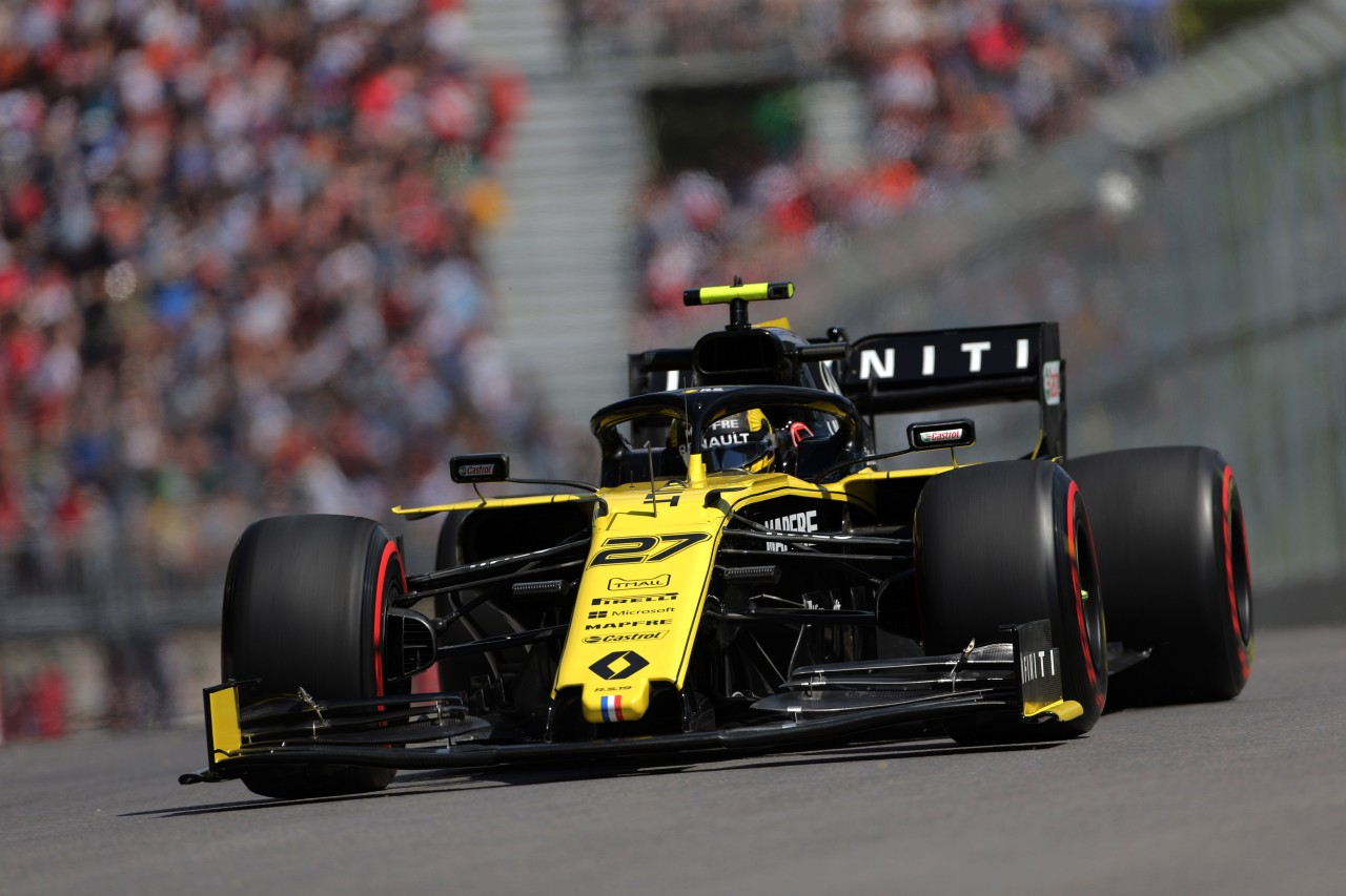 GP CANADA, 07.06.2019 - Prove Libere 2, Nico Hulkenberg (GER) Renault Sport F1 Team RS19