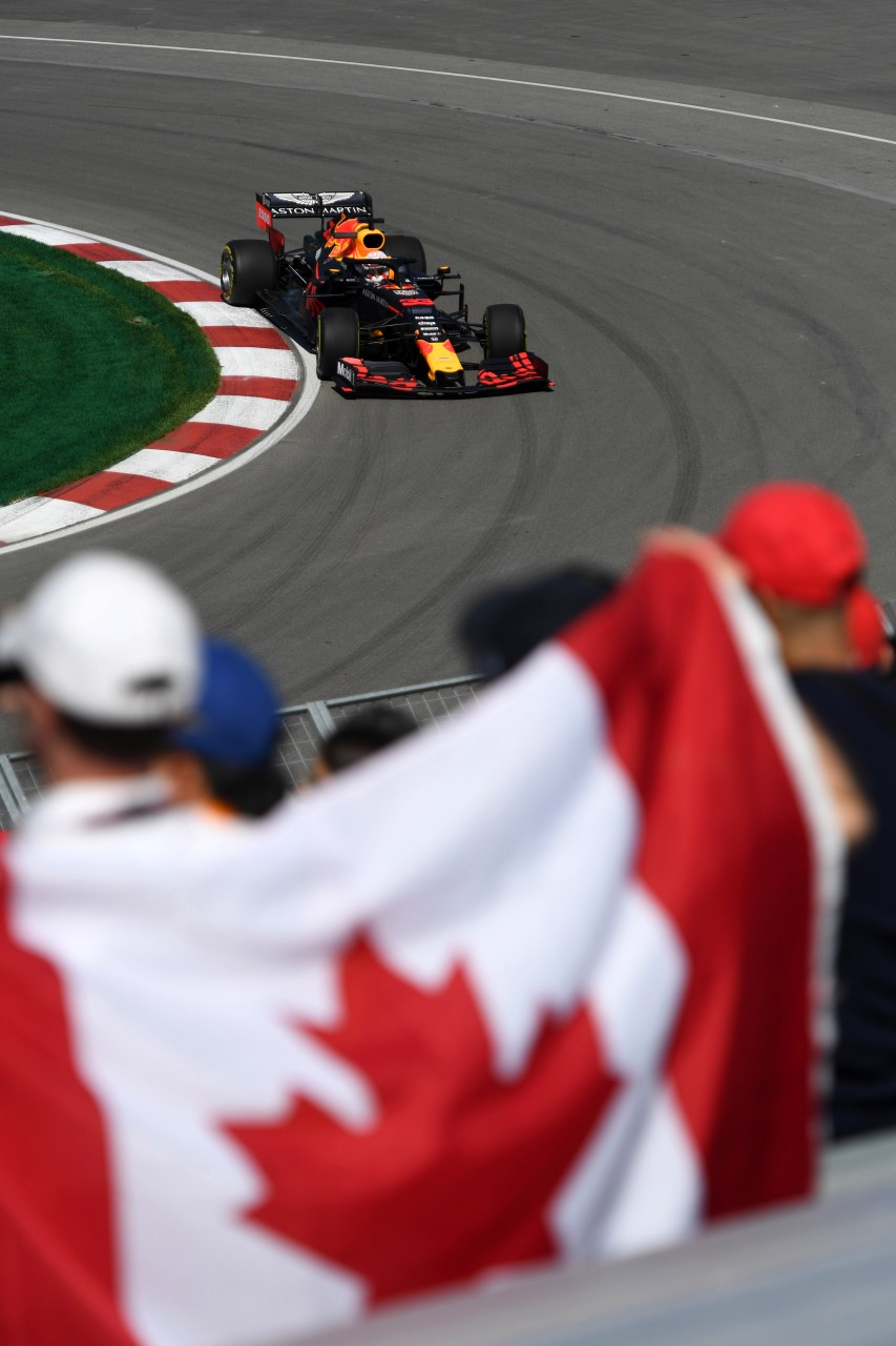 GP CANADA, 07.06.2019 - Prove Libere 1, Max Verstappen (NED) Red Bull Racing RB15