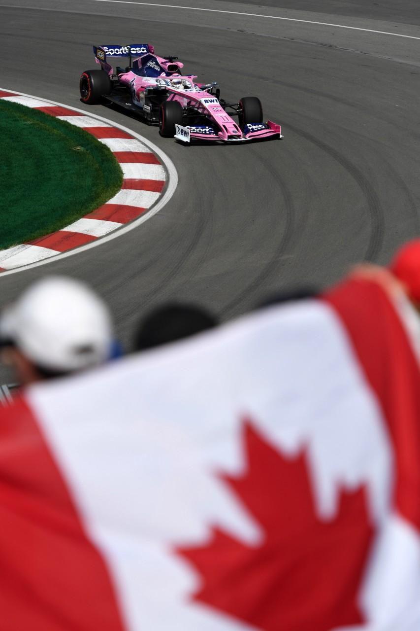 GP CANADA, 07.06.2019 - Prove Libere 1, Sergio Perez (MEX) Racing Point F1 Team RP19