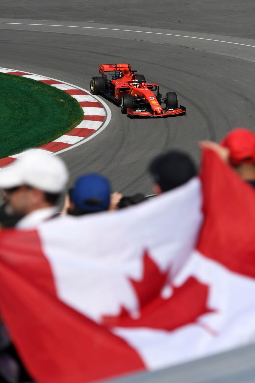 GP CANADA, 07.06.2019 - Prove Libere 1, Sebastian Vettel (GER) Ferrari SF90