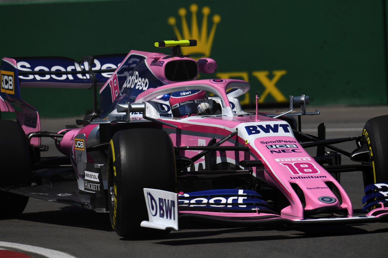GP CANADA, 07.06.2019 - Prove Libere 1, Sergio Perez (MEX) Racing Point F1 Team RP19