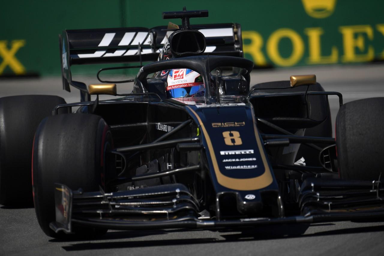 GP CANADA, 07.06.2019 - Prove Libere 1, Romain Grosjean (FRA) Haas F1 Team VF-19