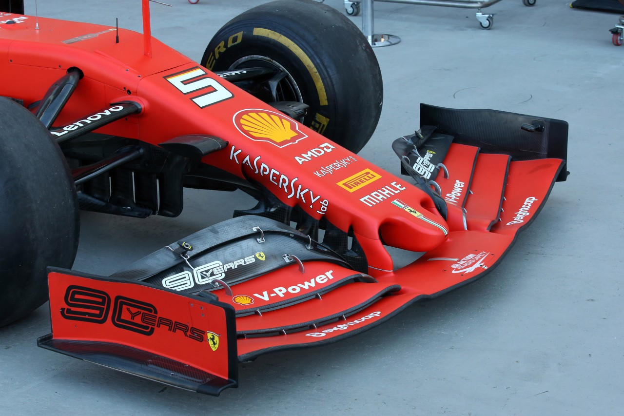 GP CANADA, 07.06.2019 - Prove Libere 1, Ferrari SF90, detail