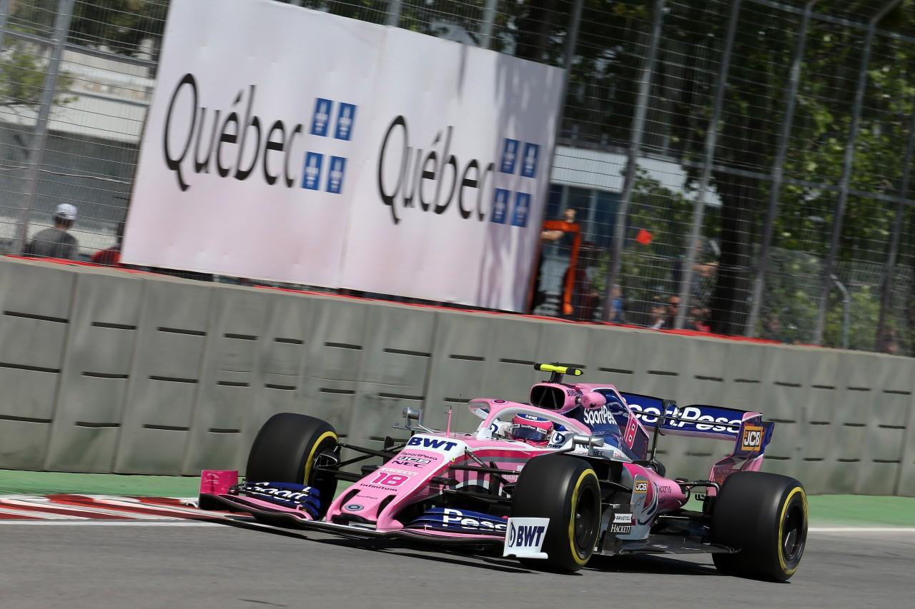 GP CANADA, 07.06.2019 - Prove Libere 1, Lance Stroll (CDN) Racing Point F1 Team RP19