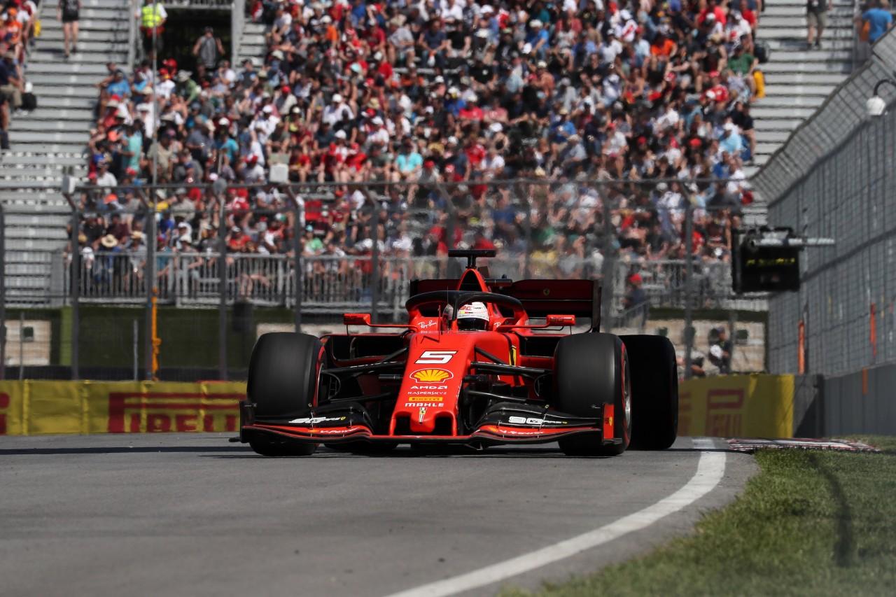 GP CANADA, 07.06.2019 - Prove Libere 2, Sebastian Vettel (GER) Ferrari SF90