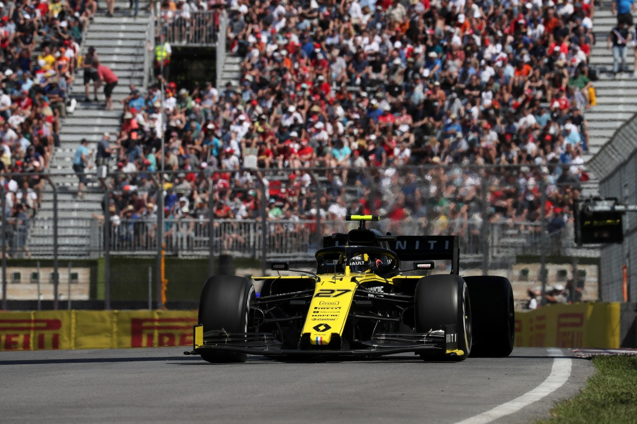 GP CANADA, 07.06.2019 - Prove Libere 2, Nico Hulkenberg (GER) Renault Sport F1 Team RS19