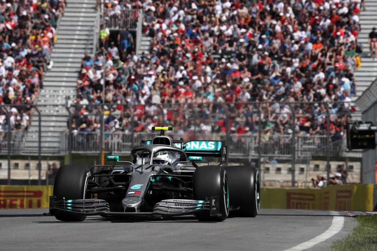 GP CANADA, 07.06.2019 - Prove Libere 2, Valtteri Bottas (FIN) Mercedes AMG F1 W010